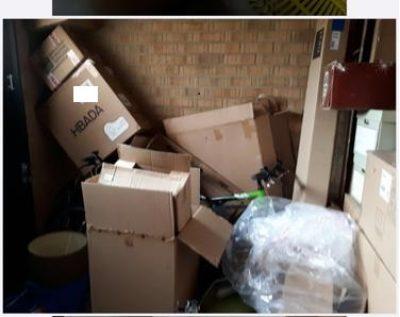 Rid My Rubbish Darlington, Garage Before Tidy Up.jpg