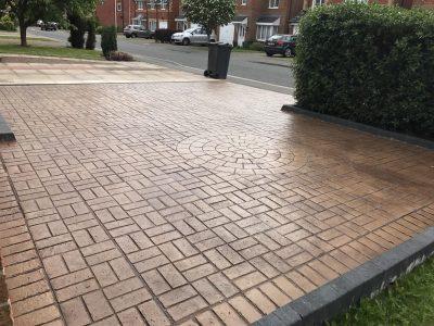 Rustic Sandstone Pattern Imprinted Concrete in Darlington.jpg