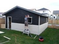 New Garage Exterior